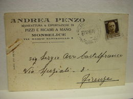 MONSELICE    --  PADOVA  --- ANDREA  PENZO  -- PIZZI 6 RICAMI - Padova (Padua)