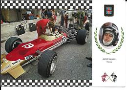 Jackie Oliver écossais Pilote F1 F2 Années 60 - Grand Prix / F1