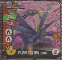 IMAN, Magnet, INVIZIMALS The Resistance, De PANINI, 3 Flameclaw Max (segundo) - Magnets