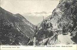 11761683 Val D Anniviers Strasse Nach Visoie  Sierre - Schweiz
