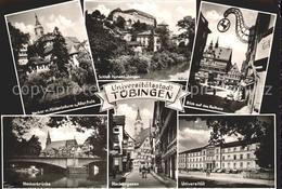 72178821 Tuebingen Hoelderlinturm Neckarbruecke Neckargasse Universitaet Rathaus - Tuebingen