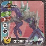 IMAN, Magnet, INVIZIMALS The Resistance, De PANINI, 20 Ice Dragon Max (tercero) - Magnets