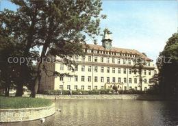 72259530 Goerlitz Sachsen Sankt Carolus- Krankenhaus Haupteingang Schwanenteich - Goerlitz