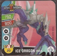 IMAN, Magnet, INVIZIMALS The Resistance, De PANINI, 20 Ice Dragon Max (cuarto) - Magnets