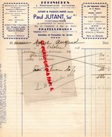 86- CHATELLERAULT - RARE FACTURE PAUL JUTANT-PAQUOT HERVE- PEPINIERES -HORTICULTURE- RUE ANGELARDE- RUE DES ECARTS-1944 - Agriculture