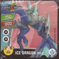 IMAN, Magnet, INVIZIMALS The Resistance, De PANINI, 20 Ice Dragon Max (quinto) - Magnets