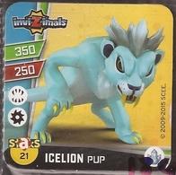 IMAN, Magnet, INVIZIMALS The Resistance, De PANINI, 21 Icelion Pup - Magnets