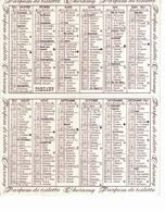Petit Calendrier ( 8x10cm) Mme Renée - Coiffeuse Pour Dames à Marly La Ville - Calendars