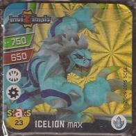 IMAN, Magnet, INVIZIMALS The Resistance, De PANINI, 23 Icelion Max - Magnets