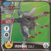 IMAN, Magnet, INVIZIMALS The Resistance, De PANINI, 26 Ironbug Colt - Magnets