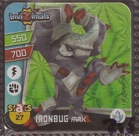 IMAN, Magnet, INVIZIMALS The Resistance, De PANINI, 27 Ironbug Max - Magnets