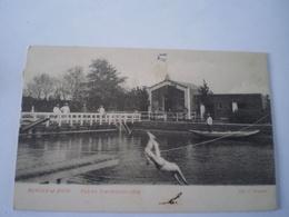 Bergen Op Zoom (N-Br.) Bad En Zweminrichting ( Geanimeerd) Gelopen 1903 Uitg. G.Janssen / Zeldzaam - Bergen Op Zoom