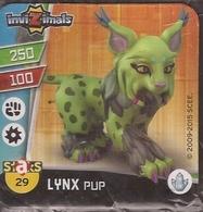 IMAN, Magnet, INVIZIMALS The Resistance, De PANINI, 29 Lynx Pup - Magneti