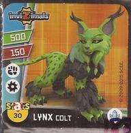 IMAN, Magnet, INVIZIMALS The Resistance, De PANINI, 30 Lynx Colt - Magnets