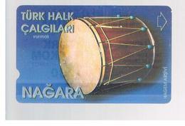 TURCHIA  (TURKEY)  -  2001 NAGARA DRUM       - USED - RIF. 10768 - Turquie