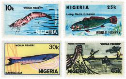 Ref. 28474 * NEW *  - NIGERIA . 1983. FISHES. PECES - Nigeria (1961-...)