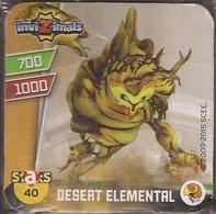 IMAN, Magnet, INVIZIMALS The Resistance, De PANINI, 40 Desert Elemental - Other