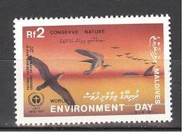 1985 Conserve Nature   World Environment Day. - Maldives (1965-...)