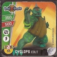 IMAN, Magnet, INVIZIMALS The Resistance, De PANINI, 55 Cyclops Colt (segundo) - Magnets