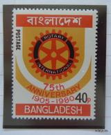 BANGLADESH Year 1980. 40p; 75th Anniversary Of Rotary. SG 152. MNH. Error - Bangladesh
