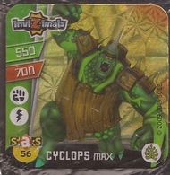 IMAN, Magnet, INVIZIMALS The Resistance, De PANINI, 56 Cyclops Max - Magnets
