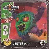 IMAN, Magnet, INVIZIMALS The Resistance, De PANINI, 57 Jester Pup - Magnets