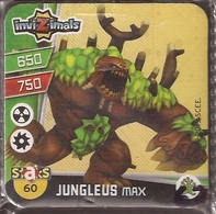 IMAN, Magnet, INVIZIMALS The Resistance, De PANINI, 60 Jungleus Max - Magnets