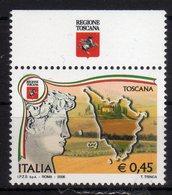 Italia 2006 Serie Regioni Con Appendice Toscana MNH - 2001-10: Ungebraucht