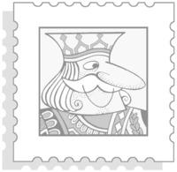 GERMANIA 1949/1956 - ALBUM MARINI VERSIONE KING - NUOVI D'OCCASIONE 10 FOGLI - Stamp Boxes
