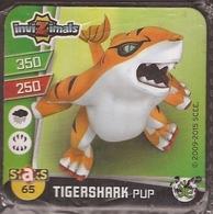 IMAN, Magnet, INVIZIMALS The Resistance, De PANINI, 65 Tigershark Pup - Magnets