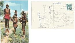 Kenya Tribal Dancers - AirmailPPC Nairobi 23aug1965 To Italy With Uhuru C65 Solo - Kenya