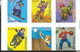 Demi Carnet N° 15  (n° 1511/16 ) (Michel: 1564/69) ** - Booklets