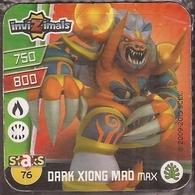 IMAN, Magnet, INVIZIMALS The Resistance, De PANINI, 76 Dark Xiong Mao Max - Magnets