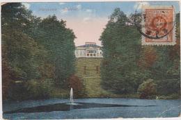 Cpa,pologne,warszawa,varsovie,capitale  De La Pologne,belweder,avec Timbre Rare, - Poland