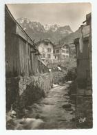 74 Haute Savoie - St Saint Gingolph La Morge ( Frontière ) Lac Léman Au Fond Vallée De Novel - France