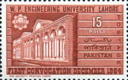 Ref. 214523 * NEW *  - PAKISTAN . 1964. UNIVERSIDAD DE INGENERIOS DE LAHORE - Pakistan