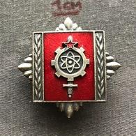 Badge (Pin) ZN006797 - Military (Army) Technical Academy Yugoslavia - Army