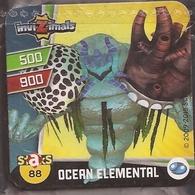 IMAN, Magnet, INVIZIMALS The Resistance, De PANINI, 88 Ocean Elemental - Magnets