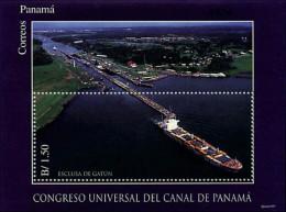 Ref. 56860 * NEW *  - PANAMA . 1997. UNIVERSAL CONGRESS OF THE PANAMA CANAL. CONGRESO UNIVERSAL DEL CANAL DE PANAMA - Panama