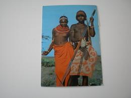 Kenya, Samburu Young Couple - Kenya