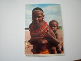 Kenya, Mother And Child - Kenya