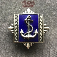 Badge (Pin) ZN006808 - Military (Army) Navy Academy Yugoslavia - Army