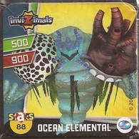 IMAN, Magnet, INVIZIMALS The Resistance, De PANINI, 88 Ocean Elemental (segundo) - Magnets