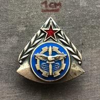 Badge (Pin) ZN006816 - Military (Army) Air-Defense School Yugoslavia - Army