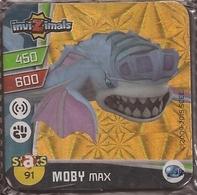 IMAN, Magnet, INVIZIMALS The Resistance, De PANINI, 91 Moby Max - Magnetos