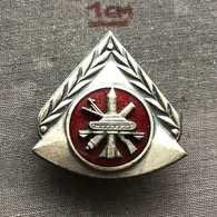 Badge (Pin) ZN006819 - Military (Army) School Yugoslavia - Army