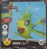 IMAN, Magnet, INVIZIMALS The Resistance, De PANINI, 94 Siren Colt - Magnets