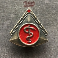Badge (Pin) ZN006821 - Military (Army) Medical School Yugoslavia - Army