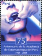Ref. 156770 * NEW *  - PERU . 2005. 75 ANIVERSARIO DE LA ACADEMIA DE ESTOMATOLOGIA DEL PERU - Peru