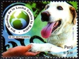 Ref. 239683 * NEW *  - PERU . 2009. DIA MUNDIAL DE LA LUCHA CONTRA LA RABIA - Peru